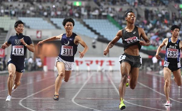 【日本陸上選手権】サニブラウン10秒05で優勝 男子100 日本初の9秒台ならず 2位・多田 桐生は4位 >>> 室内と国内でしない?